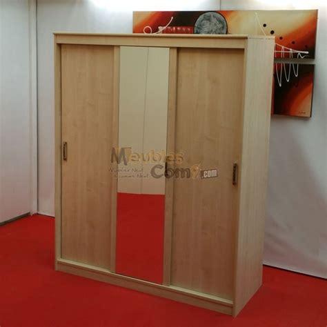 armoire chambre avec miroir armoire 3 portes coulissantes 1 avec miroir couleur