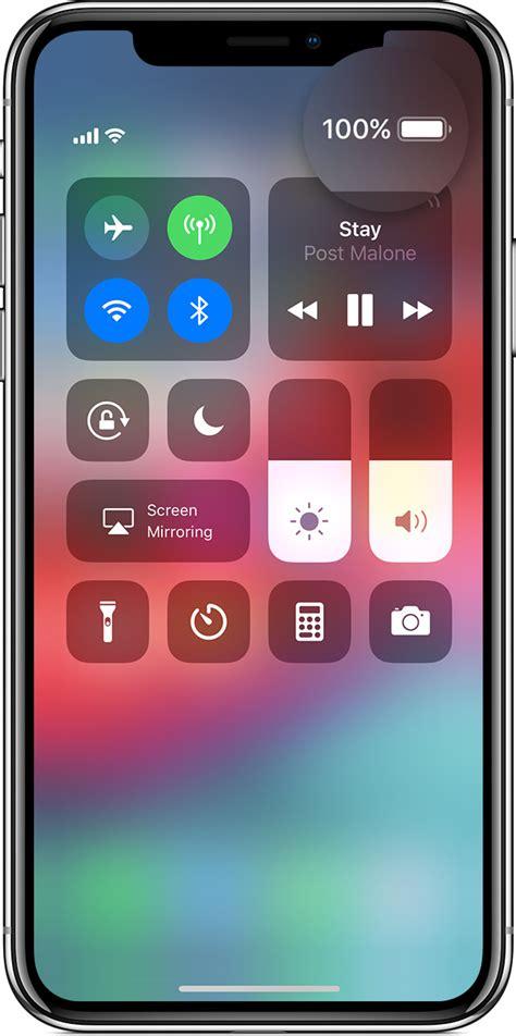 affichage du pourcentage de charge de la batterie sur votre iphone ou assistance apple