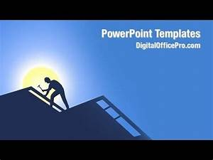 Template Real Estate Roofing Powerpoint Template Backgrounds Digitalofficepro