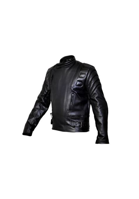 padded leather motorcycle jacket men 39 s limo padded cowhide motorcycle leather jacket men