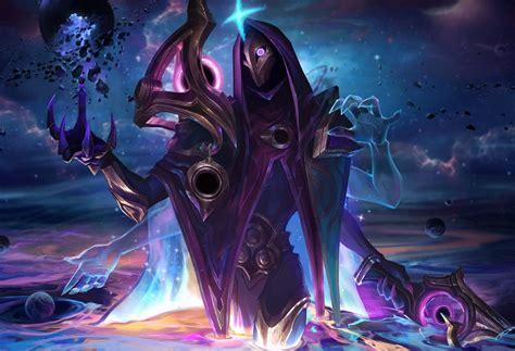Dark Cosmic Jhin Login Theme