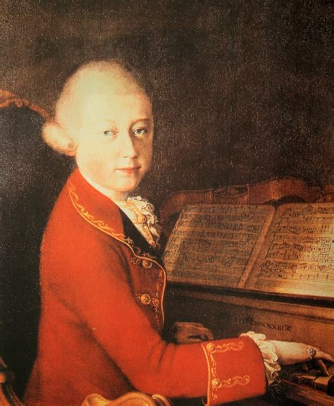 Wolfgang Amadeus Mozart Male Models Picture
