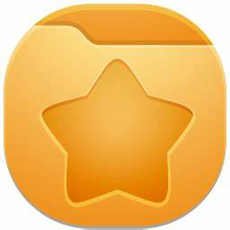 Folder favourites Icon | Qetto Iconset | Ampeross