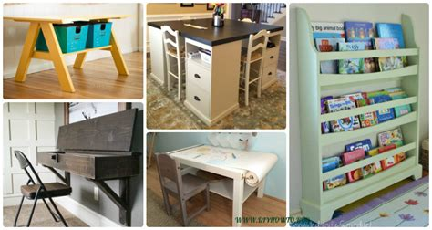 easy diy   school kids furniture ideas projects instructions