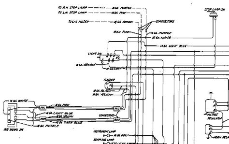 1952 Chevy Sedan Turn Signal Wiring Diagram by 1954 Chevrolet Wiring Diagram 1954 Classic Chevrolet