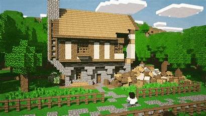 Minecraft God Physics Gifs Houses Really Water
