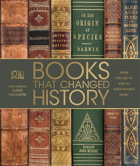 books  changed history dk uk