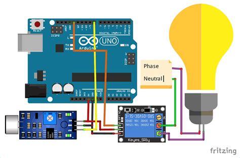 Arduino Whistle Detector Switch Using Sound Sensor