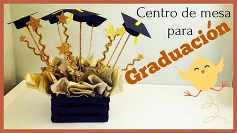 centro de mesa para graduacion manualidades con palitos de madera
