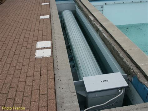 volet roulant piscine pvc