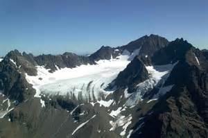Glacier Landscape Mountains