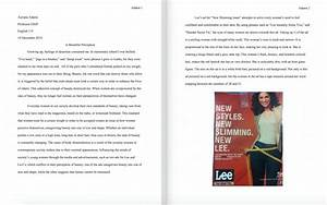 Visual Argument Essay Examples Essay About Steve Jobs About  Visual Analysis Essay Example