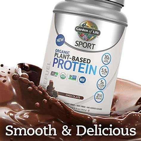 Garden Of Bcaa by Garden Of Sport Organic Plant Based Protein Bcaa