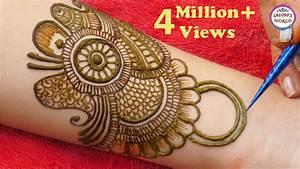 Latest Arabic Mehndi Design For Full Hands