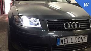 Audi A3 Xenon Headlights Installation