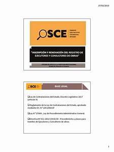 01 Inscripcion Y Renovacion De Ejecutor Y Consultor De