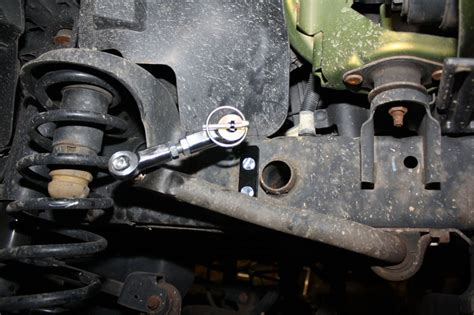 quick disconnect front sway bar end links jeep jk