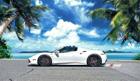 The car replaced the 458. white, Ferrari, 488, Spider, Cars, 2016 Wallpapers HD / Desktop and Mobile Backgrounds
