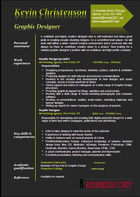 graphic designer resume examples