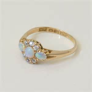 antique opal engagement rings buy antique opal and ring sold items sold rings sydney kalmarantiques