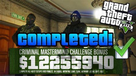 gta 5 bureau heist best approach gta 10 million heists challenge completed w best