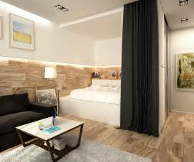 Stunning Bedrooms Plan Ideas by 2 Simple Beautiful Studio Apartment Concepts For A