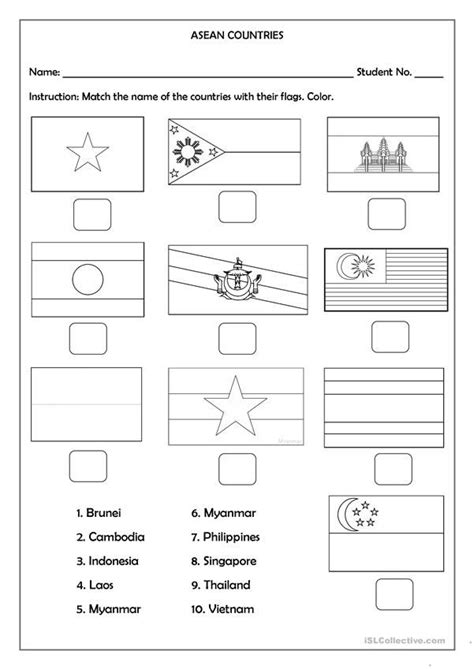 asean countries flags  images country names