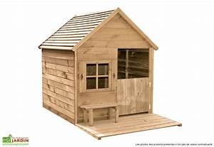 Cabane Exterieur Enfant : maison bois exterieur enfant les cabanes de jardin abri ~ Melissatoandfro.com Idées de Décoration