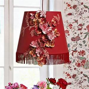 Fabriquer Un Abat Jour En Tissu : un abat jour d cor de fleurs en tissu marie claire ~ Zukunftsfamilie.com Idées de Décoration