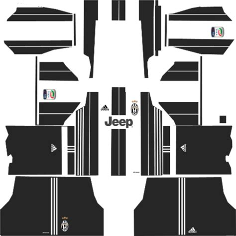 Juventus Kits 2017/2018 - Dream League Soccer - Kuchalana