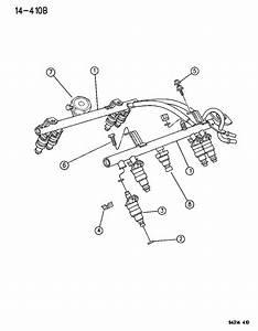 1995 Dodge Ram Van Fuel Rail