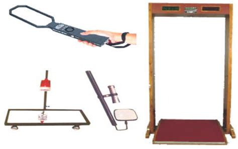 Metal Detector Working With Circuit Its Applications