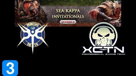 mineski  execration game  sea kappa invitationals