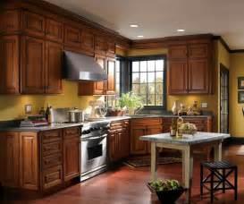 schrock kitchen cabinets menards denali cherry chestnut schrock at menards