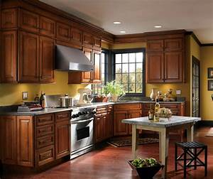 Traditional, Cherry, Kitchen, Cabinets