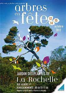 Jardin Des Plantes La Rochelle : flyers la rochelle arbres en f te au jardin des plantes du vendredi 12 au dimanche 14 ~ Melissatoandfro.com Idées de Décoration