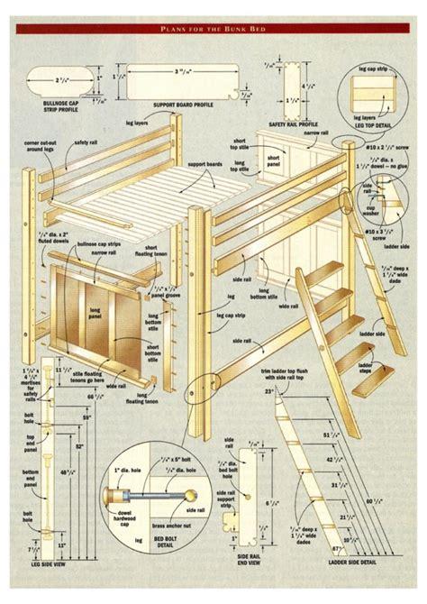 woodwork loft bed woodworking plans  plans