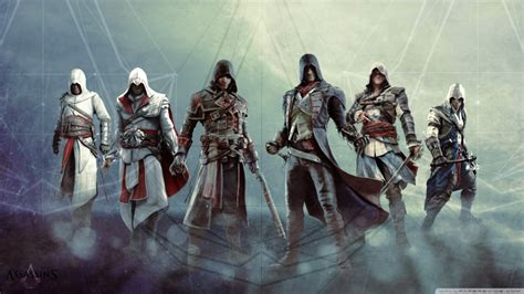 creed rogue hd assassin wallpapers ac desktop connor protagonists edward ezio 4k altair background main widescreen games mobile 1366 ultra