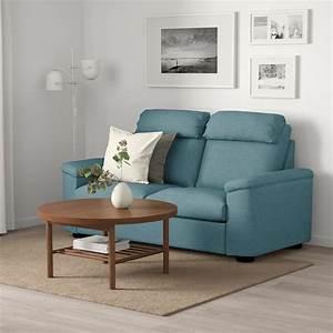 lidhult sleeper sofa gassebol blue gray ikea