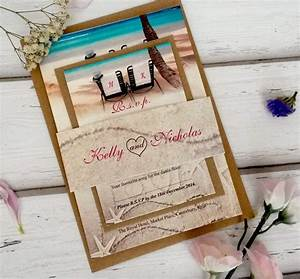 beach wedding invitation templates wedding invitation With diy wedding invitation kits beach theme