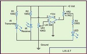 Distance Sensor Circuit Diagram