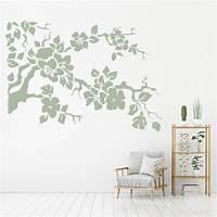 great flower wall decals Flower Branch Wall Sticker Floral Wall Art