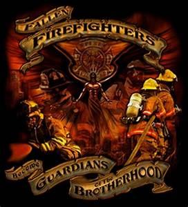 Guardians of The Brotherhood Firefighter T-Shirt