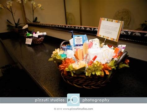wedding reception bathroom basket ideas bathroom