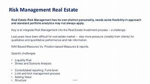Proactive Risk Management for Real Estate
