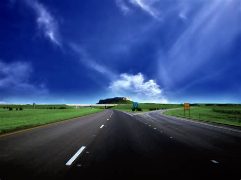 Road Full Hd Wallpaper And Background