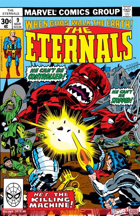 Eternals (1976) #9 | Comic Issues | Marvel