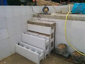 Piscine En Kit Polystyrène : conception de l 39 escalier piscine kit polystyrene ~ Premium-room.com Idées de Décoration