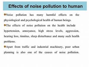 """NOISE POLLUTION"""