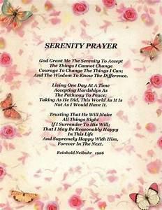 Full Serenity Prayer Wallpaper - WallpaperSafari